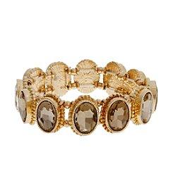 Erica Lyons® Estate Sale Stone Stretch Bracelet