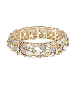 Erica Lyons® Glitter Stretch Bangle Bracelet