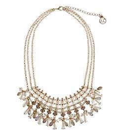 Erica Lyons® Gatsby Shaky Fringe Frontal Necklace