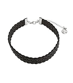 Erica Lyons® Choker Braided Necklace