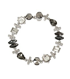 Kenneth Cole® Mixed Metallic Faceted Stone Bracelet