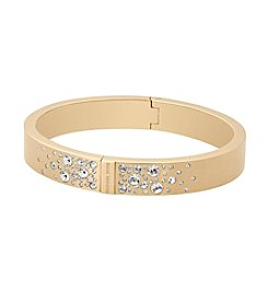 Michael Kors® Goldtone Pave Detail Bangle Bracelet