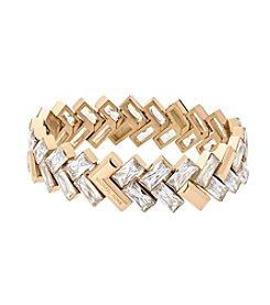 Michael Kors® Goldtone Chevron Bracelet