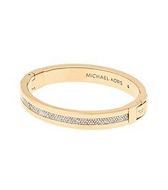 Michael Kors® Goldtone Pave Path Bracelet