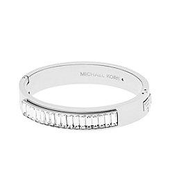 Michael Kors® Wide Crystal Path Bangle Bracelet