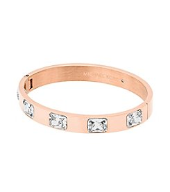 Michael Kors® Raised Crystal Bangle Bracelet