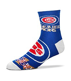 For Bare Feet MLB® Chicago Cubs Men's World Series Champions Socks