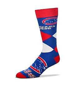 For Bare Feet MLB® Chicago Cubs Men's World Series Diamond Tall Socks