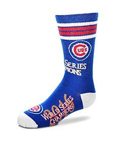 For Bare Feet MLB® Chicago Cubs Boys' World Series High Socks