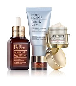 Estee Lauder Global Anti-Aging Repair Serum + Moisturizer