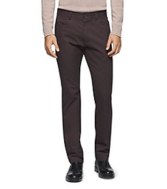 Calvin Klein Men's 4-Pocket Sateen Bowery Pants