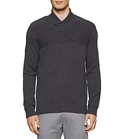 Calvin Klein Men's 3 Color Marl Sweater