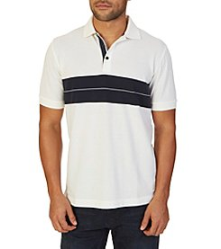 Nautica® Men's Short Sleeve Chest Stripe Polo