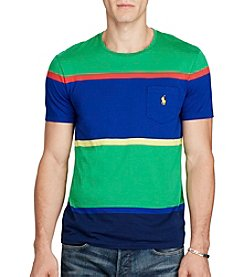 Polo Ralph Lauren® Men's Colorblock Stripe Short Sleeve Tee