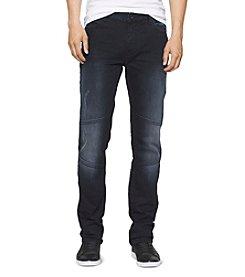 Calvin Klein Jeans® Men's Terni Slim Straight Moto Jean