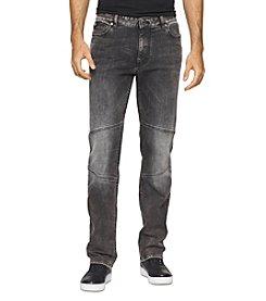 Calvin Klein Jeans® Men's Capri Slim Straight Moto Jean