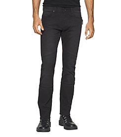 Calvin Klein Jeans® Men's Slim Sateen Moto Jeans