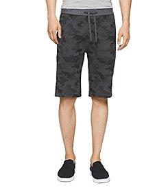 Calvin Klein Men's Logo Waistband Camo Shorts
