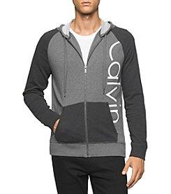 Calvin Klein Jeans® Men's Logo Full Zip Hoodie