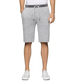 Calvin Klein Jeans® Men's Logo Waist Sueded Fleece Shorts