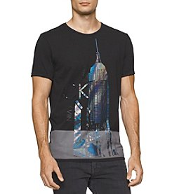 Calvin Klein Jeans® Men's Metallic City Graphic Short Sleeve Tee