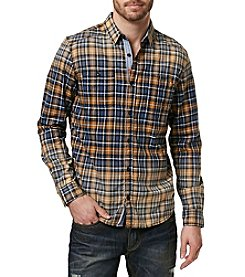 Buffalo by David Bitton Men's Salim Plaid Long Sleeve Button Down Shirt