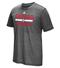 adidas® NBA® Chicago Bulls Men's Aeroknit Short Sleeve Tee