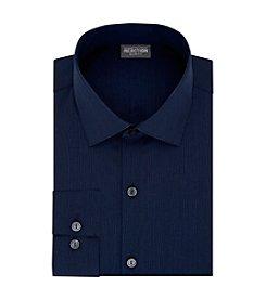 Kenneth Cole REACTION® Men's Slim Fit Spread Collar Long Sleeve Dress Shirt
