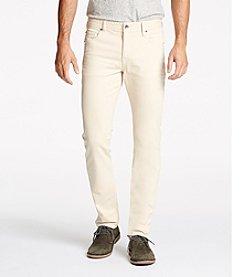 William Rast Men's Dean Slim Straight Twill Pants