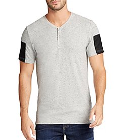 William Rast® Men's Edsn Mixed Media Short Sleeve Tee