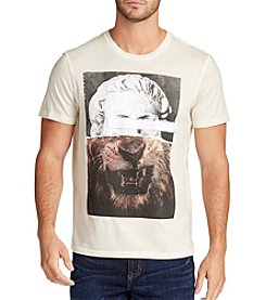 William Rast® Men's Lion Growl Short Sleeve Tee