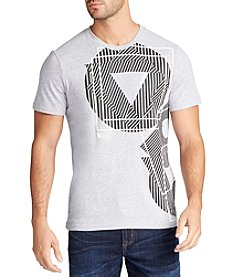 William Rast® Men's Graphic Lines Short Sleeve Tee
