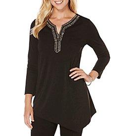 Rafaella® Twist Jersey Top