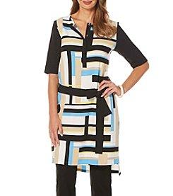 Rafaella® Printed Slit Tunic