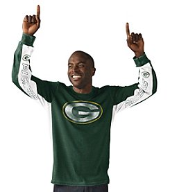 G-III NFL® Green Bay Packers Men's Hands High Long Sleeve Tee