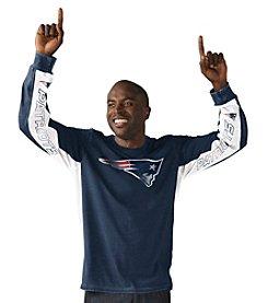 G-III NFL® New England Patriots Men's Hands High Long Sleeve Tee