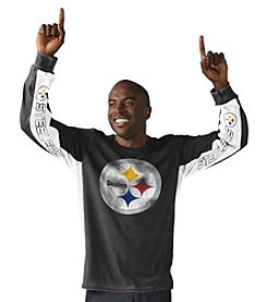 G-III NFL® Pittsburgh Steelers Men's Hands High Long Sleeve Tee