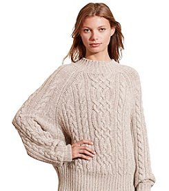 Lauren Jeans Co.® Cable Knit Sweater