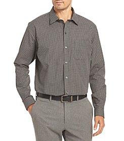 Van Heusen Men's Big & Tall Long Sleeve Traveler Button Down Shirt