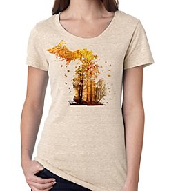 The Michigan Outfitter Fall Leaves Tee