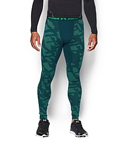 Under Armour® Men's Coldgear Armour Jacquard Compression Leggings