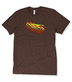 Transit Tees Men's 8 Bit Hot Dog Short Sleeve Tee