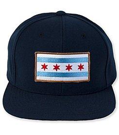 Transit Tees Chicago Flag Snap Back Hat