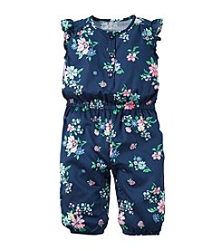 Carter's® Baby Girls' Floral Print Jumpsuit