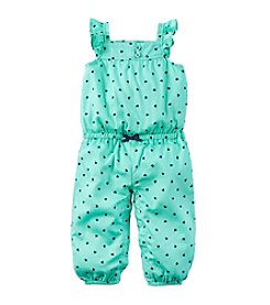 Carter's® Baby Girls' Heart Jumpsuit