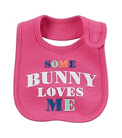 Carter's® Baby Girls' Some Bunny Loves Me Bib