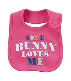 Carter's® Baby Girls' Some Bunny Loves Me Bib