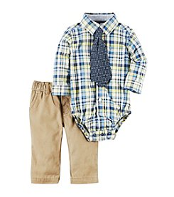 Carter's® Baby Boys 2-Piece Shirt And Pant Set