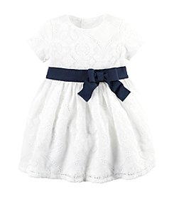 Carter's® Baby Girls' Lace Dress With Bow