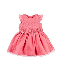 Carter's® Baby Girls' 2-Piece Dress And Bottom Set